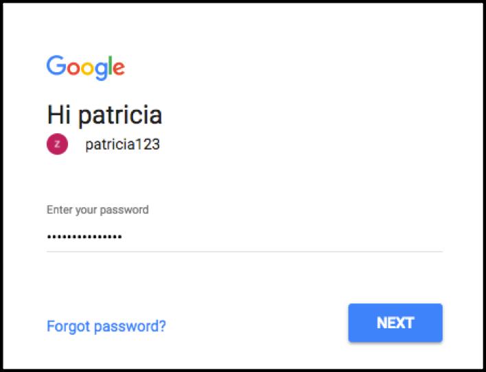 Login to Google